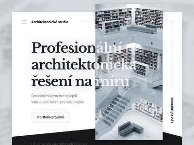 Architecture Studio - Landing Page landingpage studio architecture website