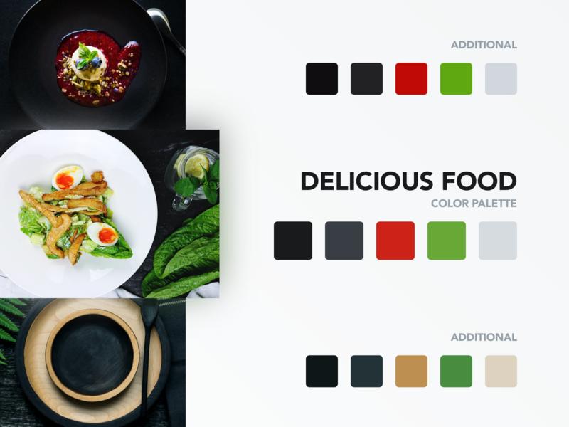 Food Color Palette