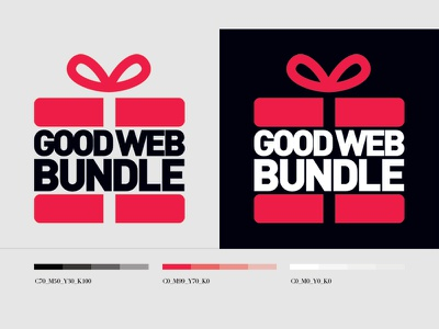 Good Web Bundle logo logo typography identity branding