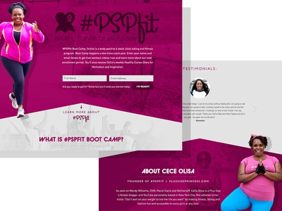 #PSPfit responsive ui web web design website one page wordpress identity logo branding