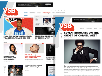 VSB 2.0 branding wordpress web design web responsive art direction ux ui website