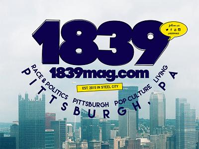 1839 Branding typography branding identity logo