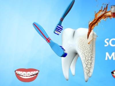 Artbo444ard 1 tooth brush photoshop social media teeth