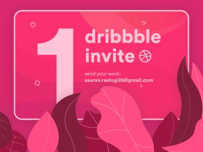 Dribbble Invite (2019) 🤘