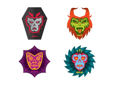Lucha Libre Stickers