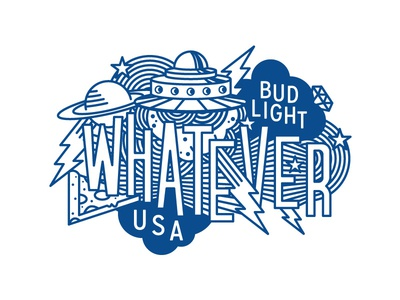 Whatever USA Trucker Hat Illustration