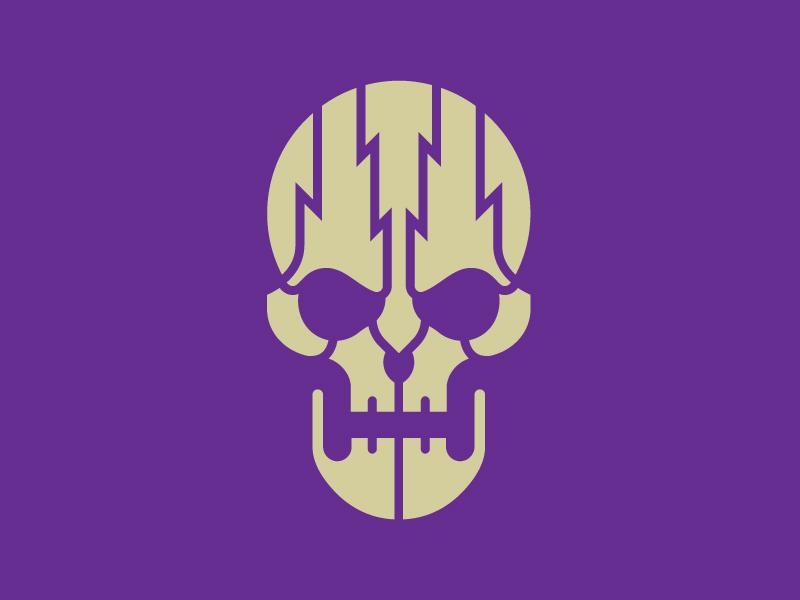 Tac skull stencil 03