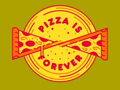 Slices Forever snacks grease slices food pizza