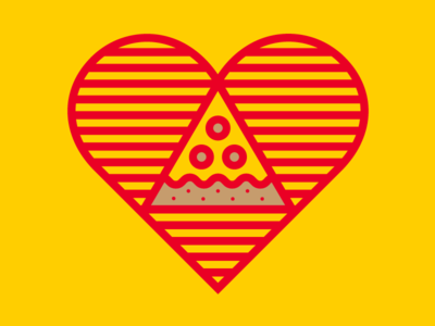 Pizza Heart Drbl