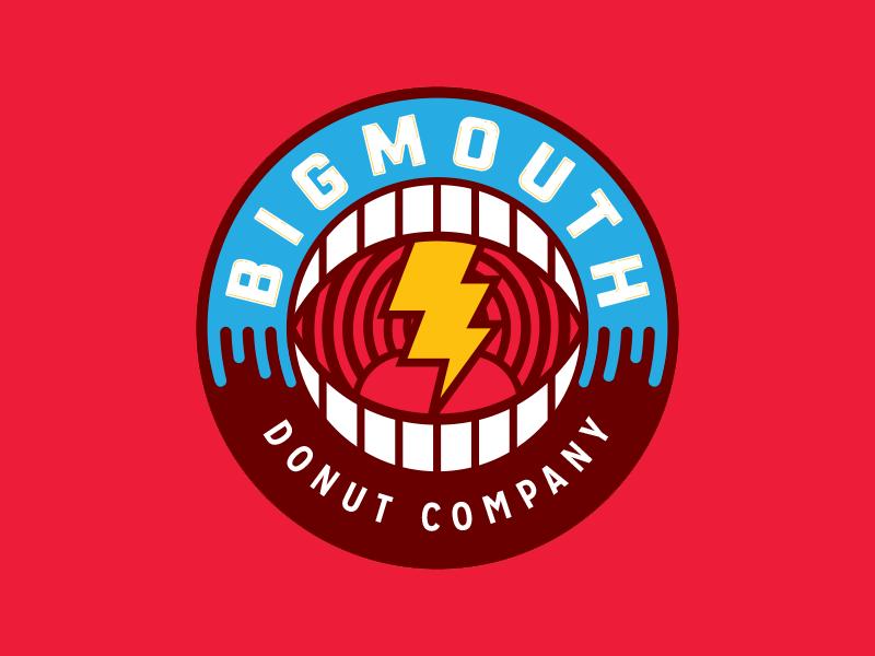 Unused logo branding donuts
