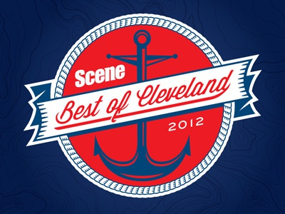 Best Of Cleveland branding magazine logo vector anchor cleveland nautical banner rope type
