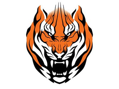 Tiger kitty jungle predator tiger meow cat