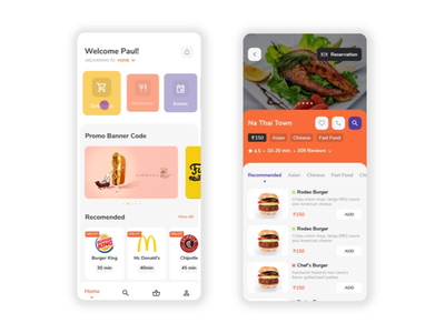 Hyperlocal discovery mobile platform - Passerby app uxdesign ux uiux ui product design experiencedesign