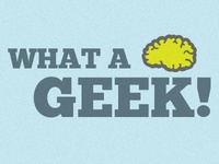 What A Geek Logo