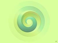 Circle Test flat minimal vector illustration logo