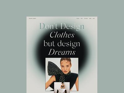 Ralph Lauren Website design web branding model gradient layout clean minimal typogaphy uiux website concept promo motion interface interaction fashion