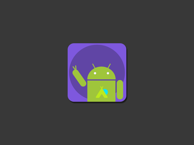 Hi And-RoiD app icon funk icon design android