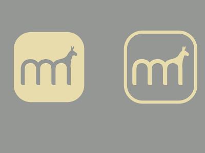 Radmule logo vector radmule typography mule logotype tolgagorgun study-o 3d cinema4d