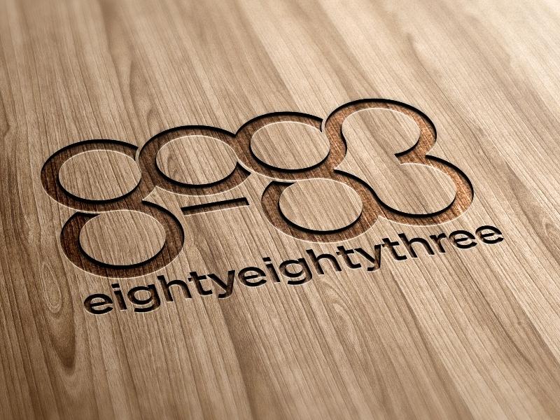 8083 Concept Design typography logotype concept