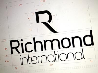 Richmond International Hotels Emblem emblem richmond hotels letter r r emblem logotype r corporate identity
