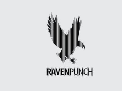 Raven Punch rhythm logotype logo dnb raven tolga gorgun gercek dorman raven punch