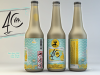 Gara Guzu Ipa4c Label Design turkish ale garaguzu tolgagorgun label design ale ipa4c