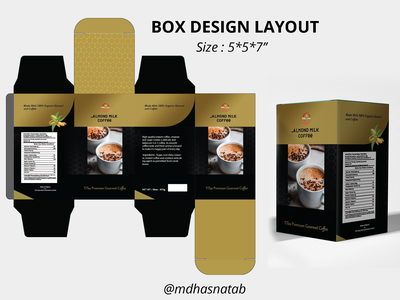 Box design layout   free package design guideline adobe photoshop logo coffee package design layout coffee packaging coffee box design. illustrator box packaging box design layout box design