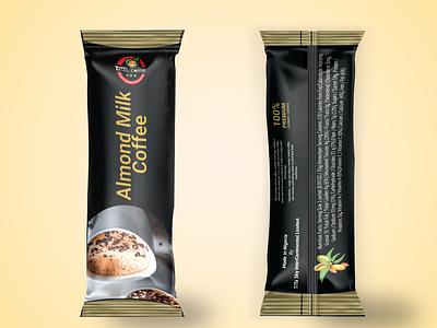 Coffee Sachet Design. Sachet Mockup illustration illustrator adobe photoshop package design packaging coffee mockup coffee sachet mockup sachet