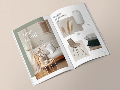 Ekor Catalogue catalogue design decoration graphic design brand identity design branding