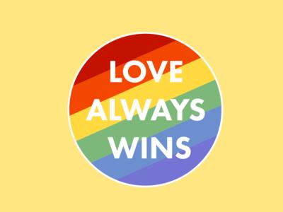 Love Always Wins by Alexa Leigh Herasimchuk - Dribbble