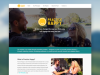 Practice Happy Website Redesign