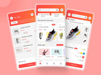 Ali Express Redesign - Part 2 chekout cartpage redesign onlineshop ecommerce ui mobile app