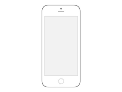 Transparent Iphone 6 Wireframe