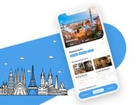 TripAdvisor Mobile App Concept
