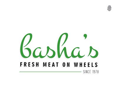 Basha's -Fresh Meat on wheels social media design clientwork meat creative design mockup logodesign typography digitalmarketing marketing designagency advertising branding agency brand design brandidentity