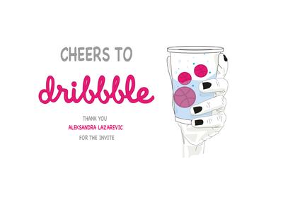 cheers hellodribble hello world cheers design firstshot illustration illustrator ai