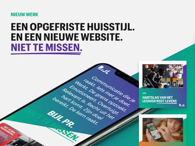 Bijl PR — Website and branding branding ui ux design website