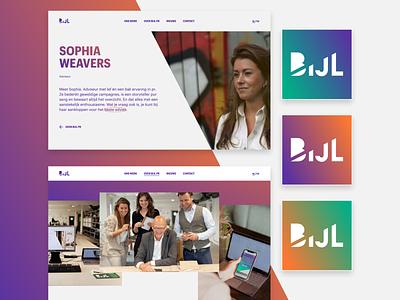 Bijl PR — Website and branding design ui ux website branding