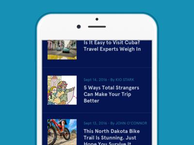 Dailyui094 News apercu app news dailyui094 dailyui