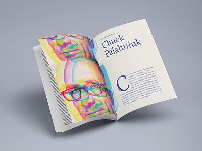 Chuck Palahniuk Magazine gtsectra magazine editorial palahniuk