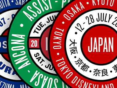 Circular Travel Logos travel skillshare draplin logo circular