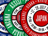 Circular Travel Logos