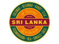Sri Lanka Circular Travel Logos