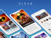 Pixar App Concept