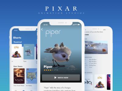 Pixar App Concept disney insideout incredibles concept pixar