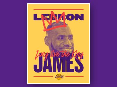 Lebron James 👑Long live the King knockout lakers king james lebron