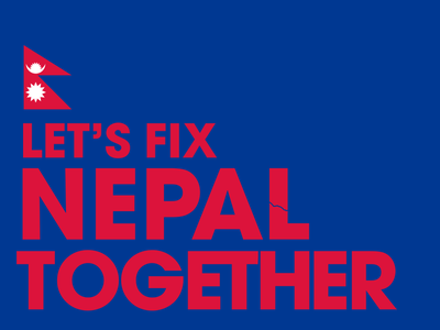 Let's Fix Nepal Together 2015 aid help relief earthquake nepal
