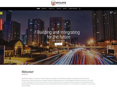 Wycliffe Technologies wordpress website design