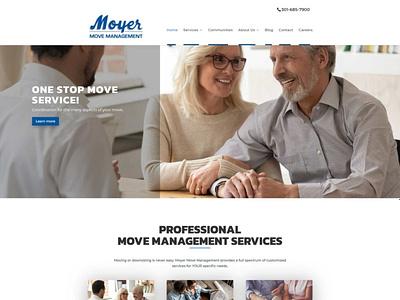 Moyer Move Management wordpress website design
