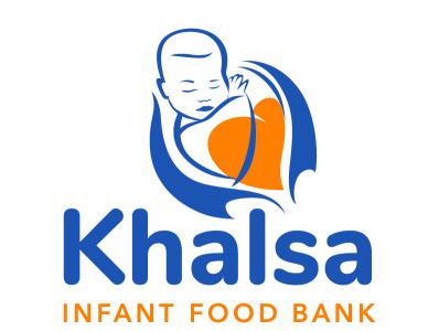 Khalsa Infant Food Bank logodesign logo